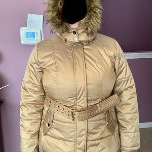 Women's short puffer NY&C coat